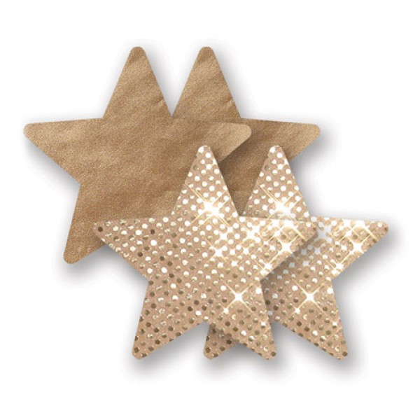 Nippies Pasties  Gold Super Star